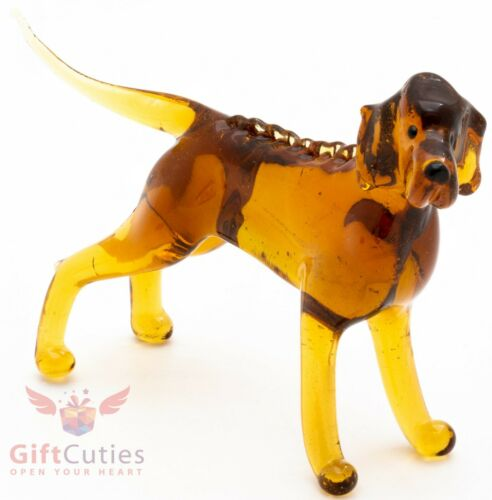 Art Blown Glass Figurine of the Rhodesian Ridgeback dog