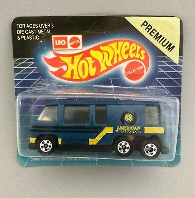 1991 Leo India Hot Wheels '76 GMC Motor Home  With Card