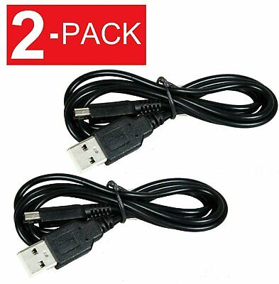 2-Pack USB Charger Power Cable Cord Plug for Nintendo 3DS / DSi / DSi LL / XL Cables & Adapters