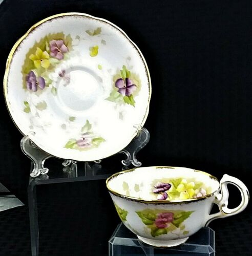 "Vintage Royal Standard ""Charmaine"" Teacup and Saucer Made in England"