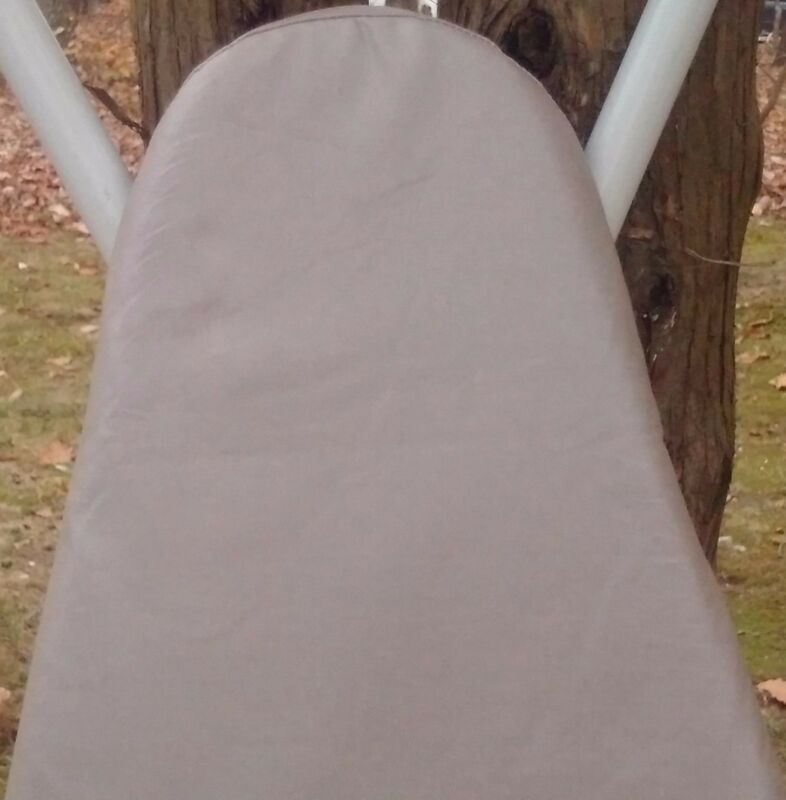 CHECKYS DEALS COTTON CANVAS IRONING BOARD COVER NO PAD STANDARD 15 X 55