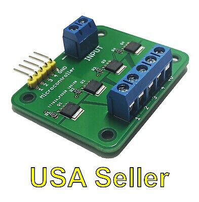 Mosfet Breakout Board Module Switch Relay 15a 30v 4-outputs For Arduinorpi