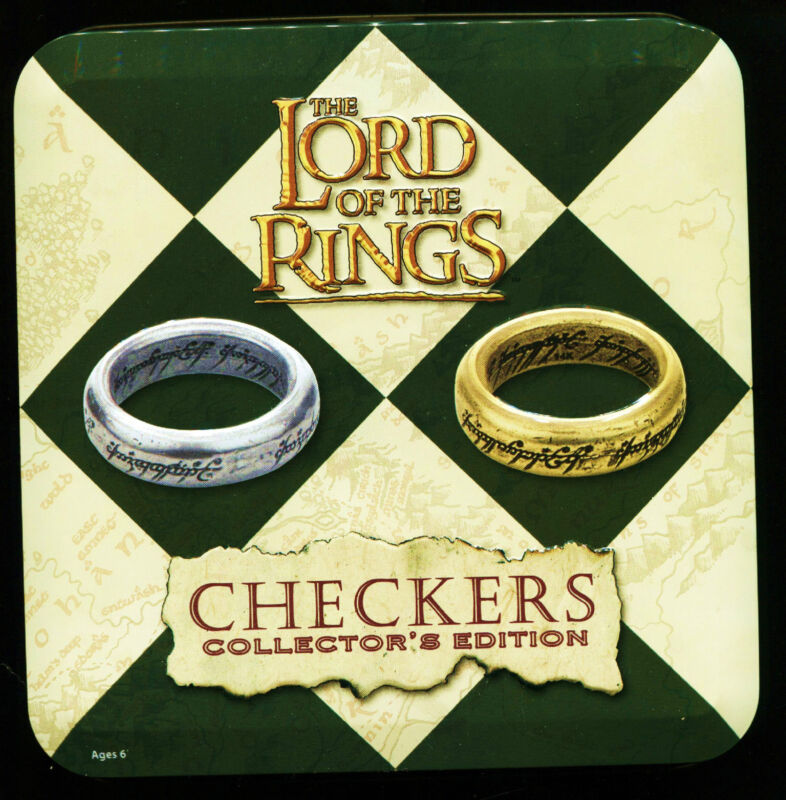 THE LORD OF THE RINGS CHECKERS COLLECTOR