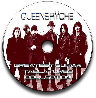 QUEENSRYCHE HEAVY METAL ROCK GUITAR TAB TABLATURE SONG BOOK SOFTWARE (Metal Guitar Tab Book)