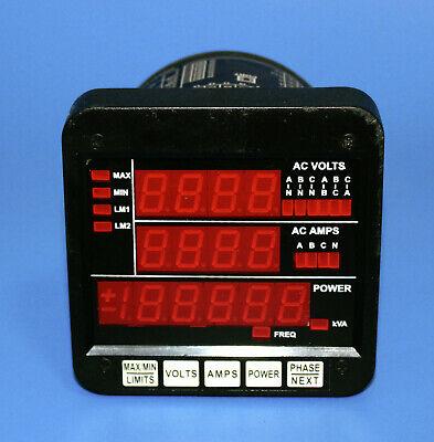 Electro Industriesgaugetech Dmms300-fkva-2e-m11.5 Power Meter Multi-function
