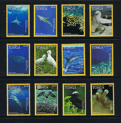 Tonga - 2016 Pacific Ocean Wildlife Postage Stamp Singles Set