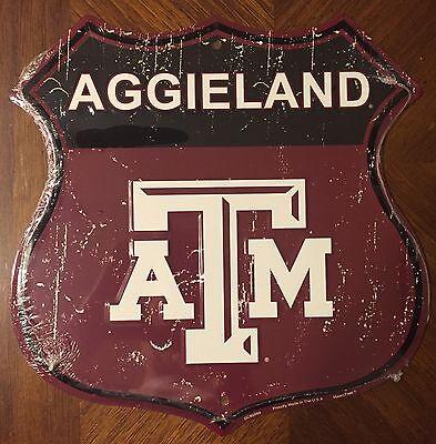 Texas A&m Aggies Metal (TEXAS A&M AGGIES 12