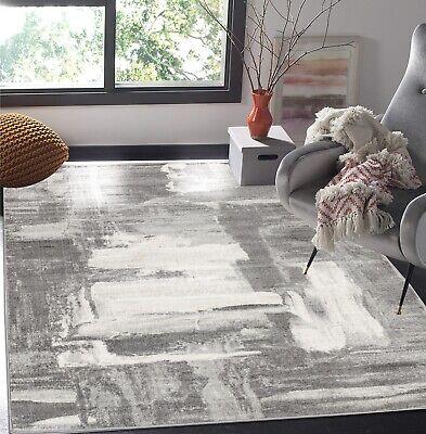 10'5' Contemporary Area Rug - area rug HMPT#700 Amazing Contemporary Gray pattern design  2x3 3x10 5x7 8x11