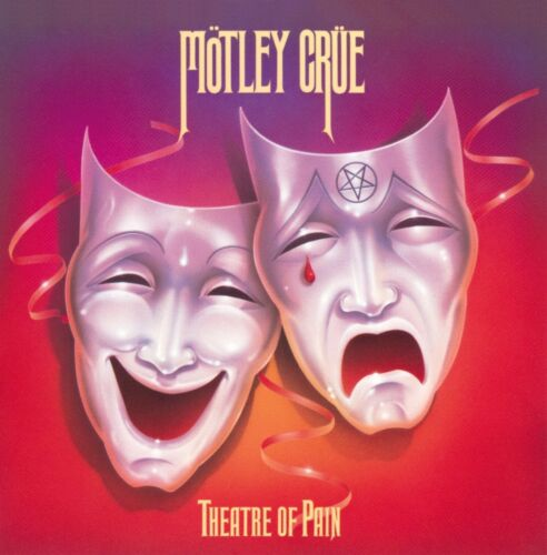 MOTLEY CRUE Theatre of Pain BANNER HUGE 4X4 Ft Fabric Poster Tapestry Flag art