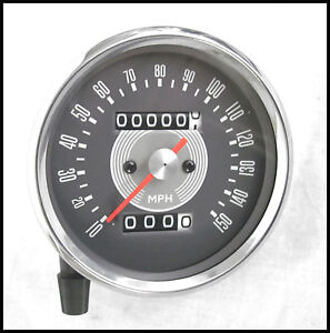 TRIUMPH-BSA-GRAY-FACE-150-MPH-SPEEDOMETER-OUR-PN-TBS-4194