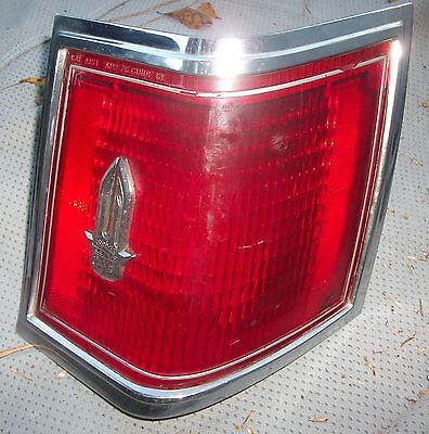 Used 1976 Cadillac Seville Tail Light Housing RH Side - Good Spare Item