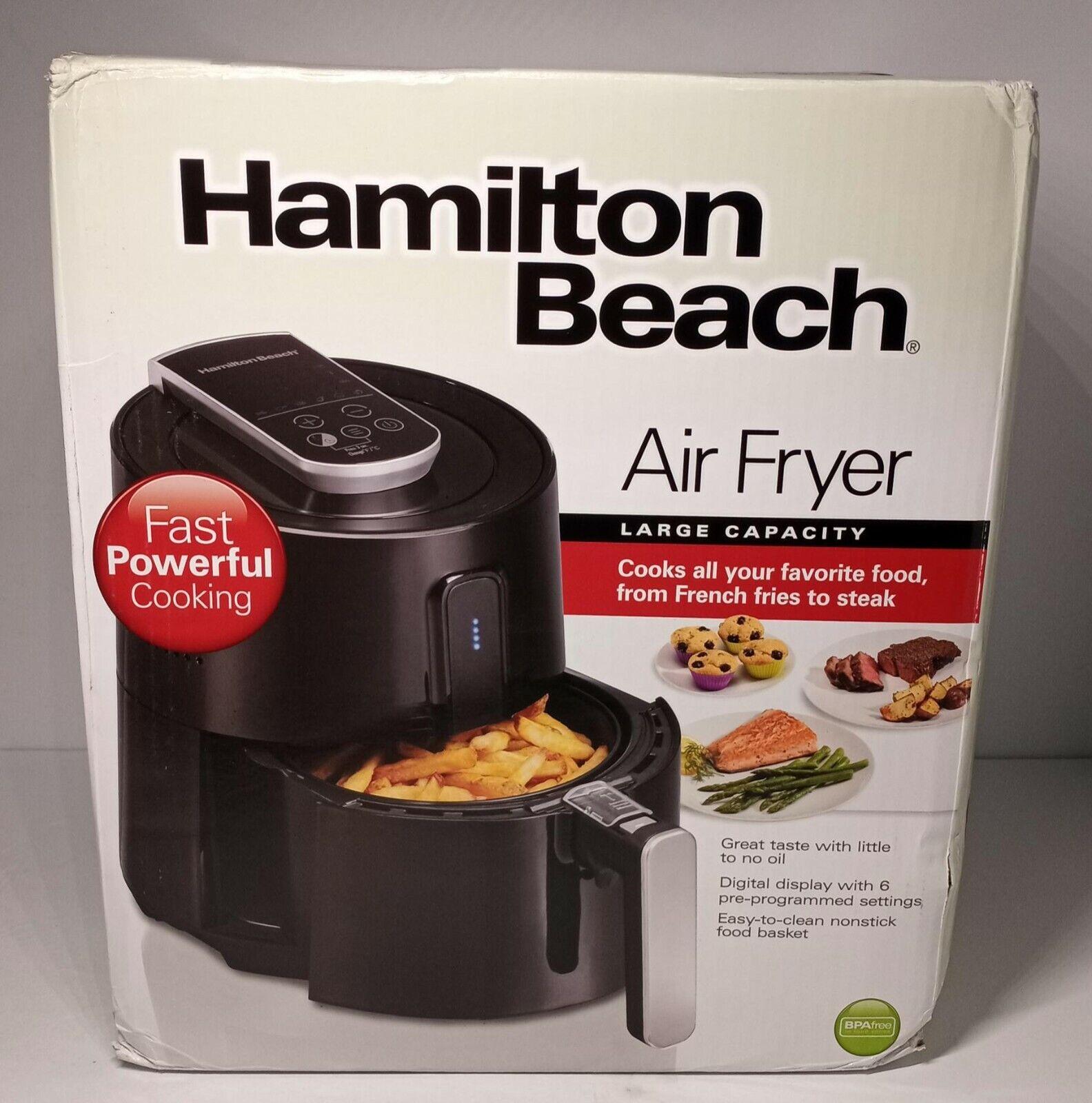 Hamilton Beach Air Fryer Large Capacity 6 settings 35050 - B