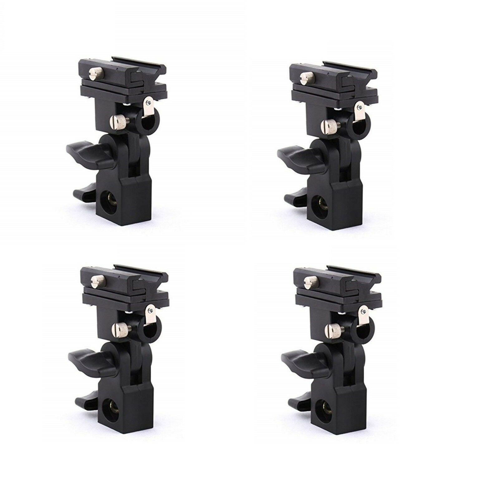LOT OF 4 PCS Generic Flash Bracket Swivel Umbrella Holder St