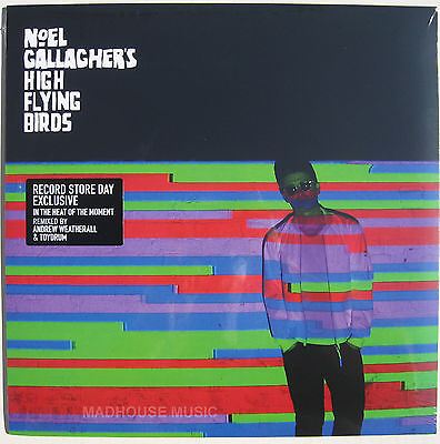 "NOEL GALLAGHER HIGH FLYING BIRDS 12"" In The Heat Of REMIX RECORD STORE DAY 2015"