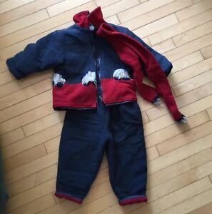 Manteau d'automne 3 ans garçon