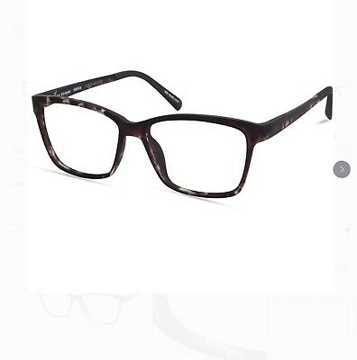 Bio Eyes Womens Prescription Glasses, BE19 DPTT DAHLIA Dark Purple (Purple Prescription Glasses)