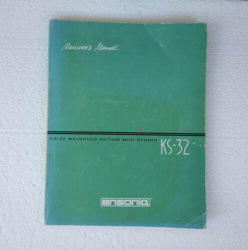 Ensoniq KS-32 synthesizer original Japanese owner
