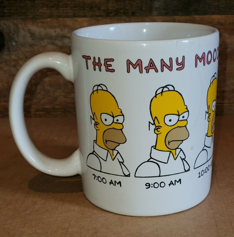 One Of The Bunch The Many Moods Of Homer Simpson Mug 1990