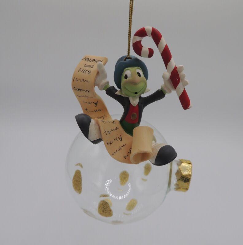 Disney Jiminy Cricket Christmas Tree Ornament Collectible