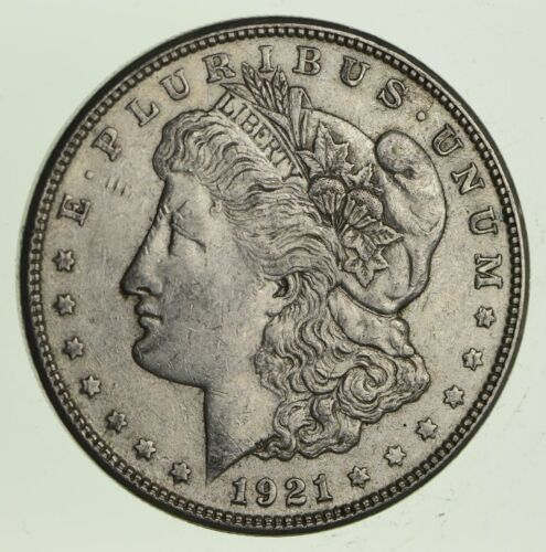 (1) VF/XF 1921-P Morgan Silver Dollar - 90% $1.00 Bullion Eagle Last Year Issue
