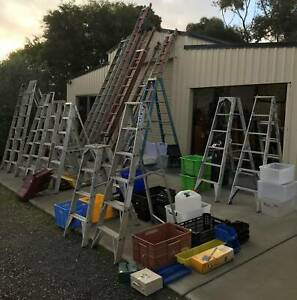GARAGE SALE Tool Ladders Old Wares and Much More