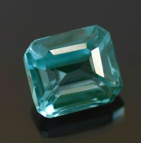 Natural 8.21 Ct AAA Cutting Colombian Certified Green Emerald Loose Gemstone