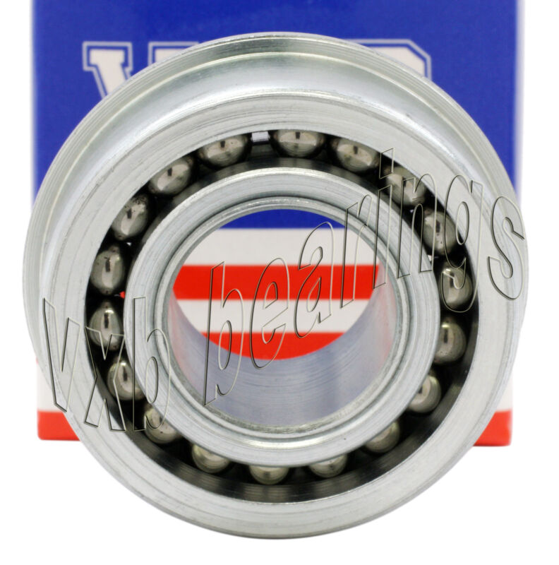 "High Capacity/Heavy Duty Wheel Ball Bearing 1/2""x 1 3/8"" inch Flanged/Flange"