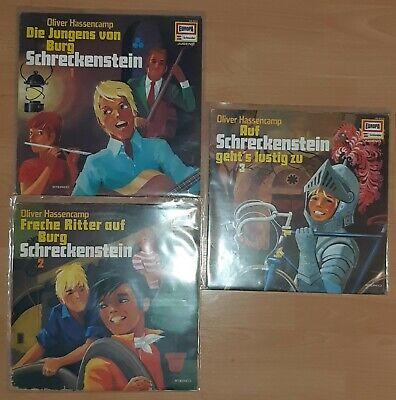Europa Vinyl LP Sammlung (9) Konvolut 3 Schallplatten Burg Schreckenstein ()