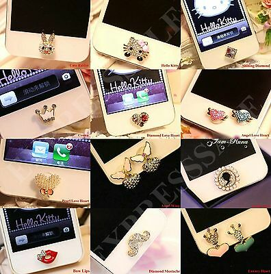 3D Home Button Sticker For iPhone4th,5th,6th,7th,iPad2,3,4 Mini,-Buy 2 get1 free