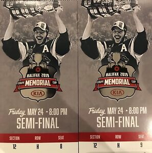 Memorial Cup Semi-Final Lower Bowl Tickets