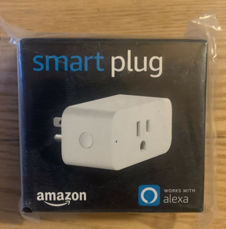 Amazon Smart Plug, works with Alexa, Brand New Unopened