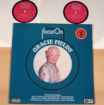 GRACIE FIELDS - Focus On Gracie Fields  (DECCA, UK / 1930's-POP / 2LP / m-)