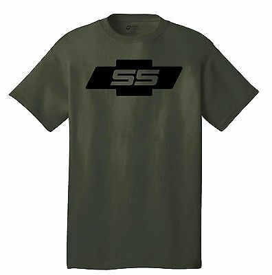 SS Chevy T-shirt Camaro Chevelle Sport Special RACING 427 454 turbo Impala ()