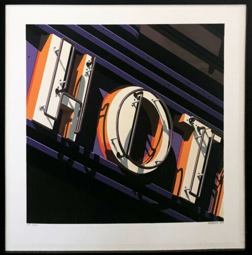"Robert Cottingham ""hot"" 2009 