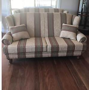 Two x 2.5 Seater Lounges, 1 Arm Chair, Exc Condition - MUST Sell Elderslie Camden Area Preview