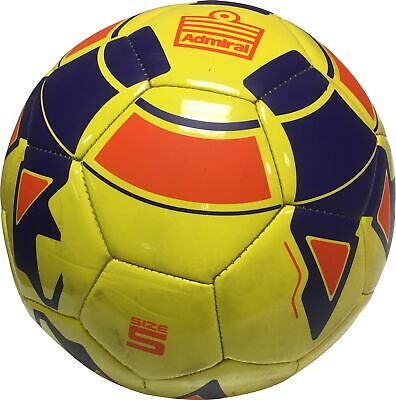 Admiral Premier Superglide Football Yellow Size 5 Durable Training Ball