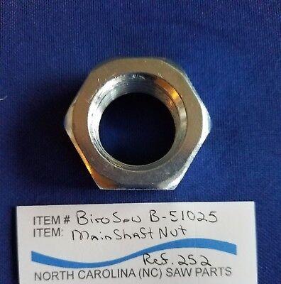 Main Shaftlock Nut For Biro Saw 11 22 33 34 1433 1433fh 3334fh Ref 252