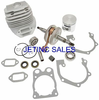 Cylinder Piston Kit Nikasil Husqvarna K760 Ii Wcrankshaft Bearings Gaskets