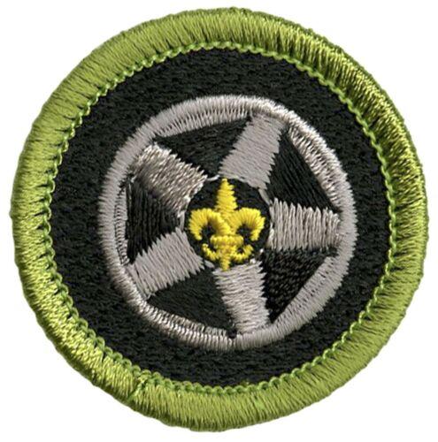 Boy Scout Current Design Merit Badge Auto Maintenance