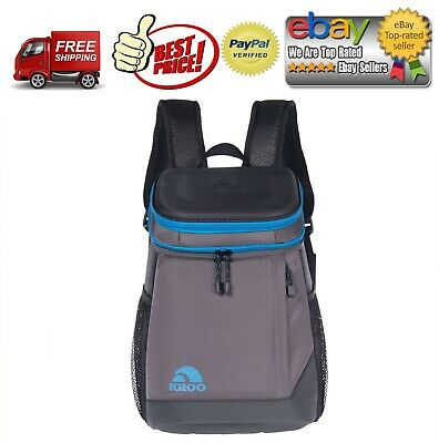 Igloo MaxCold Maxpack 18 Can Backpack Cooler - Black *BEST (Best Igloo Can Coolers)