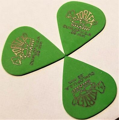 Dunlop Tortex Sharp Guitar Picks .88 mm  3 Pack for sale  Shipping to India