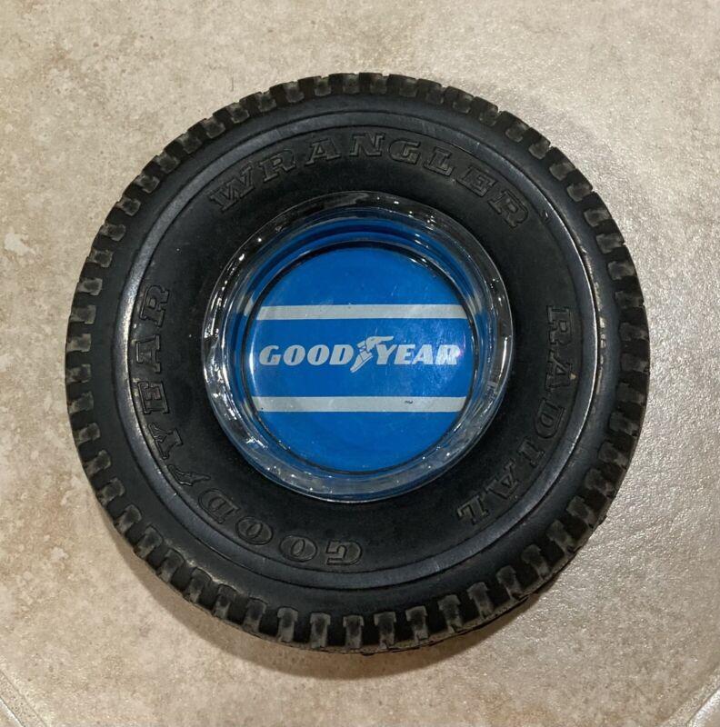 Vintage Original Goodyear Wrangler Radial Tire Ashtray