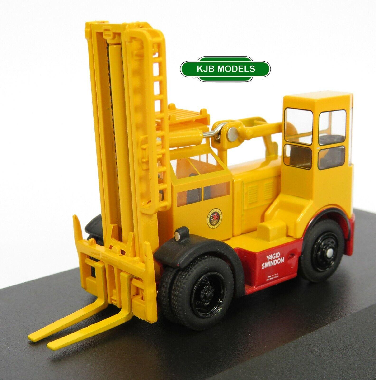 BNIB OO GAUGE OXFORD 1:76 76SDF004 Shelvoke & Drewry Freightlifter BRS Forklift
