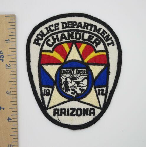 CHANDLER ARIZONA POLICE DEPARTMENT PATCH Vintage Used Original