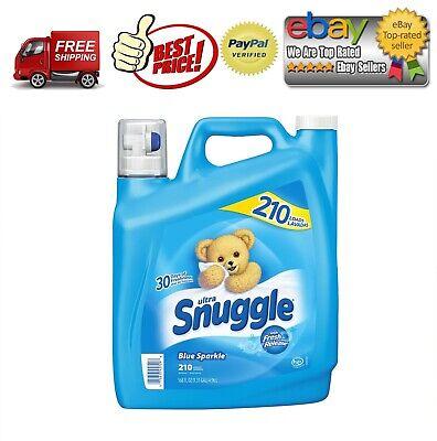 Snuggle Blue Sparkle Fabric Softener (168 oz., 210 loads) *BEST DEALS IN