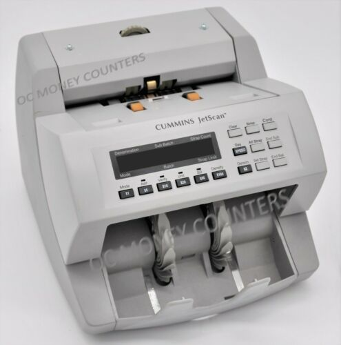 Cummins Jetscan Currency Money Counter Model 4062 **Fully Reconditioned*WARRANTY