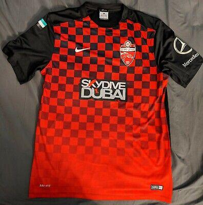 Hard To Find Nike 2016 Red Home Jersey AC Al Ahli Skydive Dubai.  image