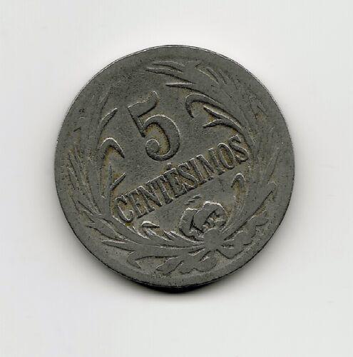 World Coins - Uruguay 5 Centesimos 1924 Coin KM# 21