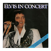 Elvis in Concert LP