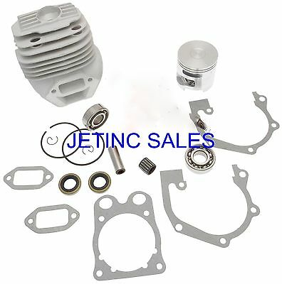 Cylinder Piston Kit Nikasil Husqvarna K760 Ii W Bearings Gaskets Seals